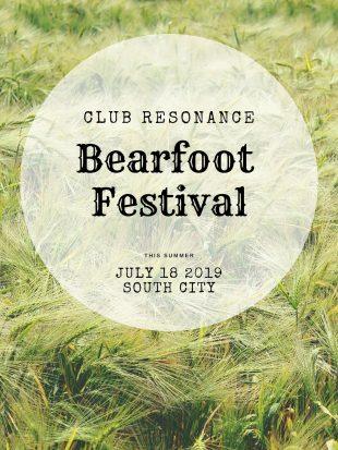 Bearfoot Festival poster