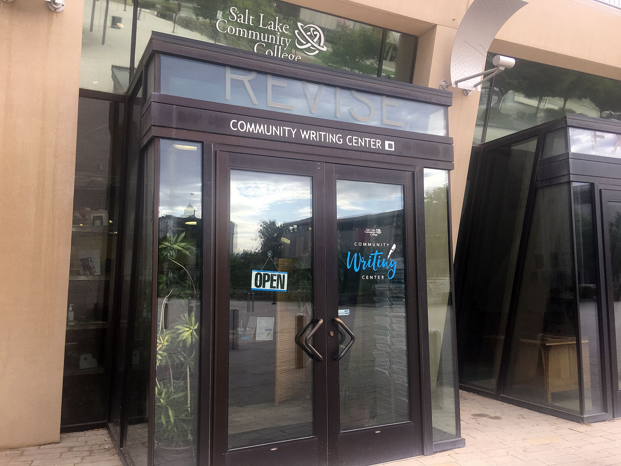 Community Writing Center entrance