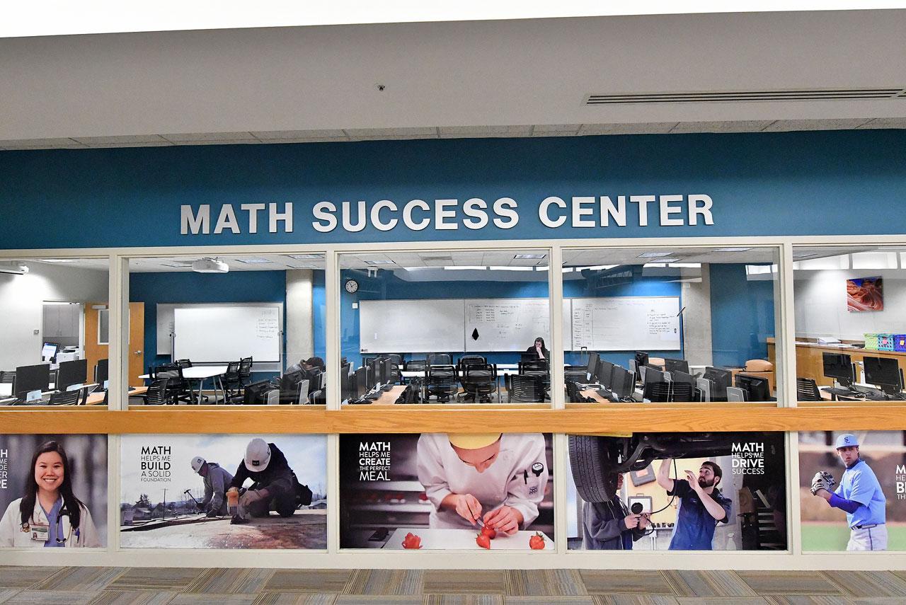 A look inside the Math Success Center