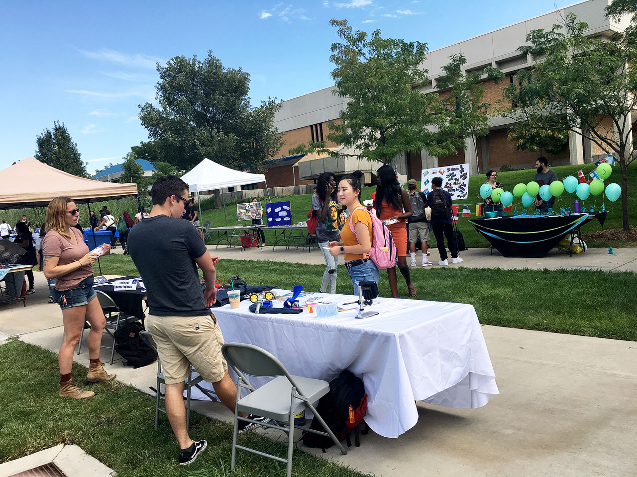 Community Engagement Fair at Redwood Campus