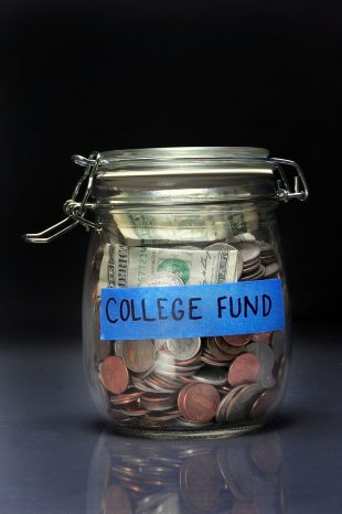 Savings for college fund