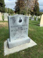 Elizabeth Moyle Webb headstone