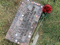 Lilly E Gray headstone