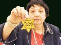 Inge holds Jewish star