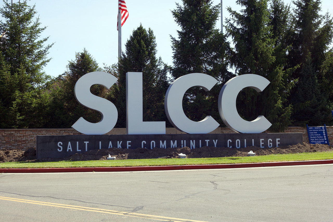 SLCC sign at Jordan Campus