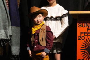 Alan S. Kim dressed as a cowboy