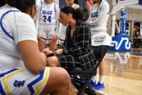 Marcilina Grayer instructs her team