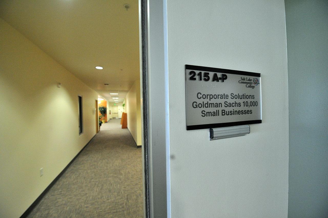 Goldman Sachs office suite