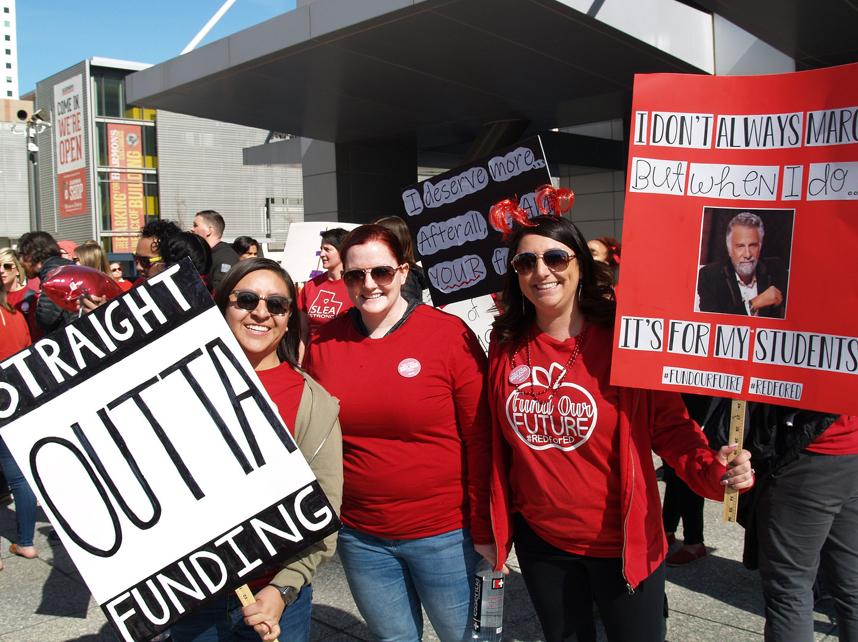 "Utah teachers are ""straight outta funding"""
