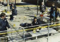 Mock crime scene