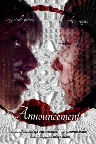 "Movie poster for ""Announcement"""