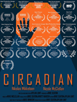 "Movie poster for ""Circadian"""