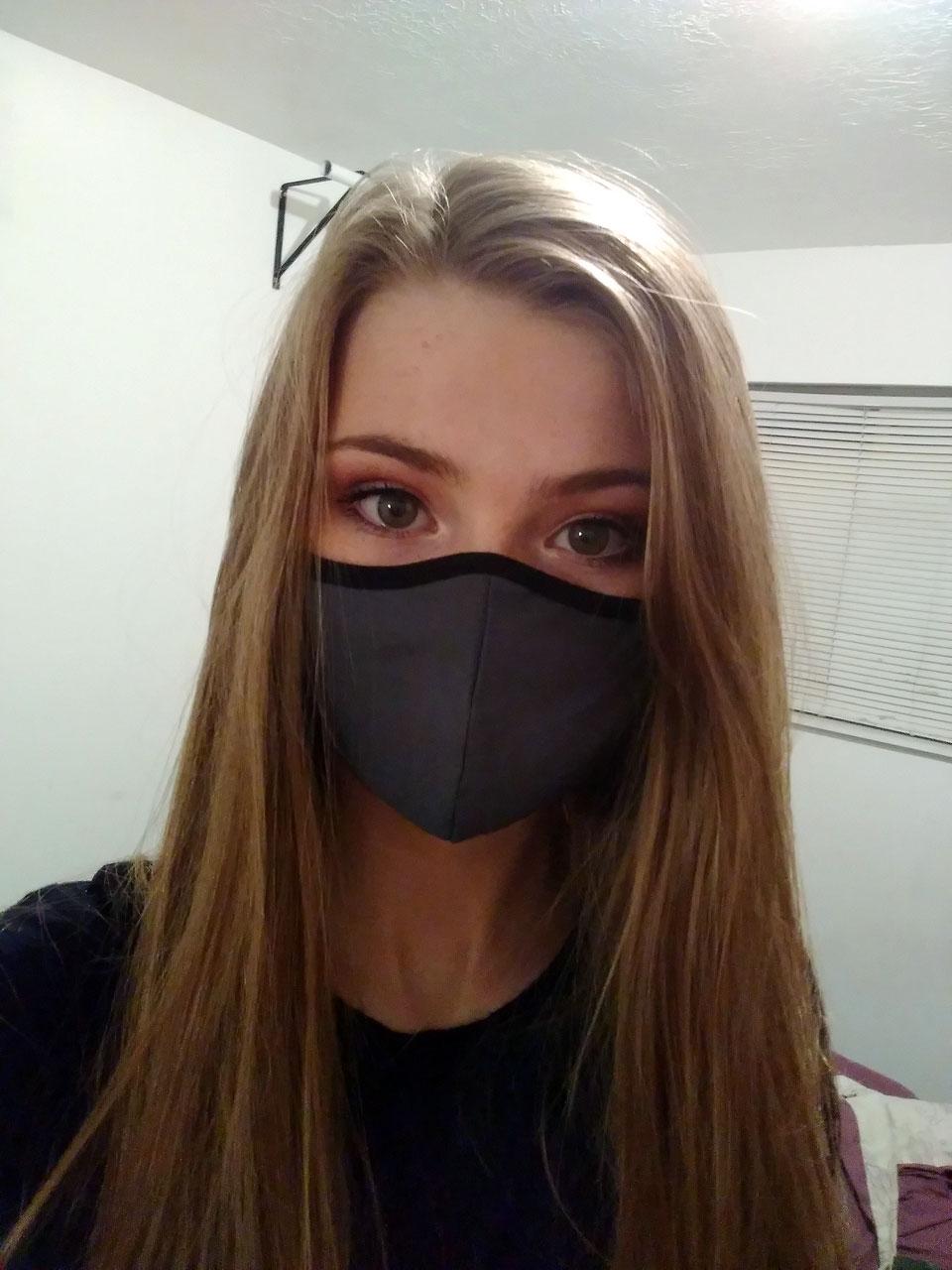 LaDonna Fuller shares a mask selfie