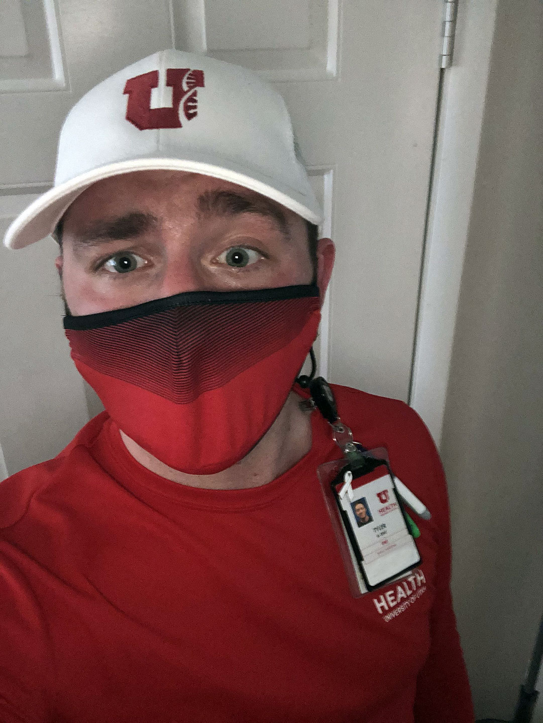 Tyler is a health care worker at the U.