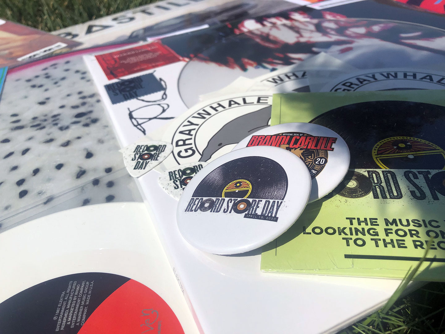 Record Store Day merchandise
