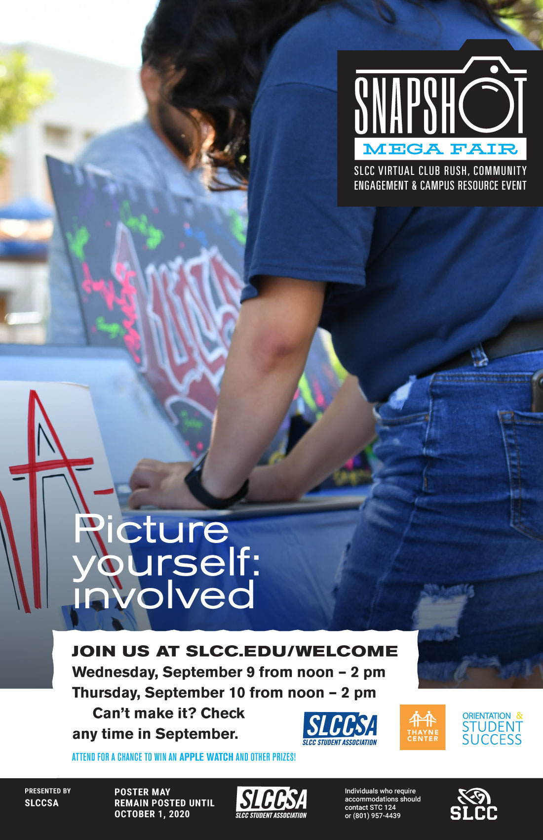 Picture yourself: involved at Snapshot Mega Fair