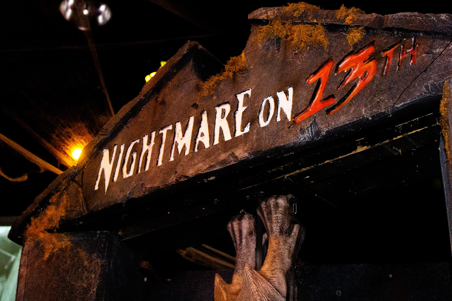 Nightmare on 13th sign