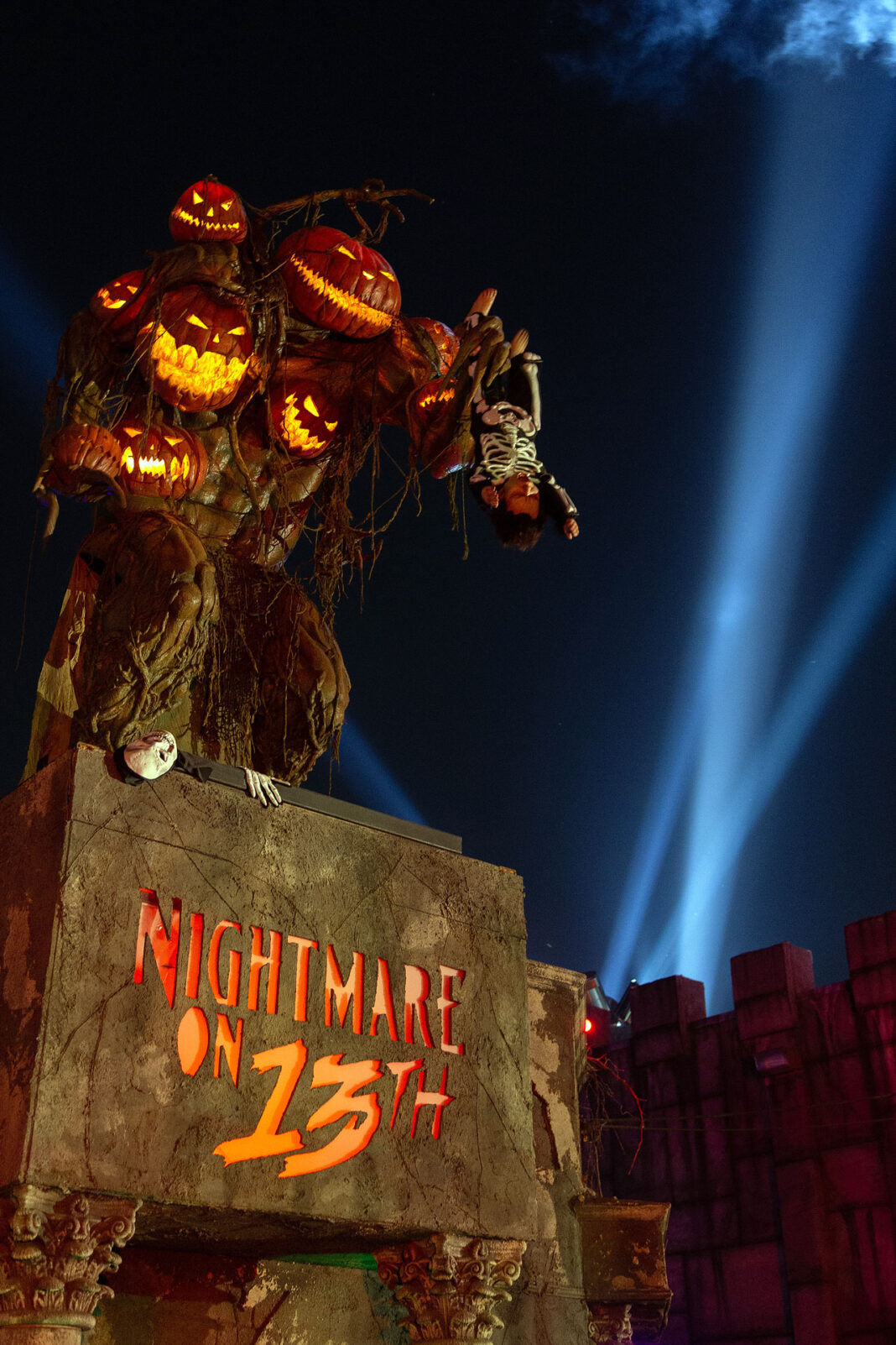 Entrance to Nightmare on 13th