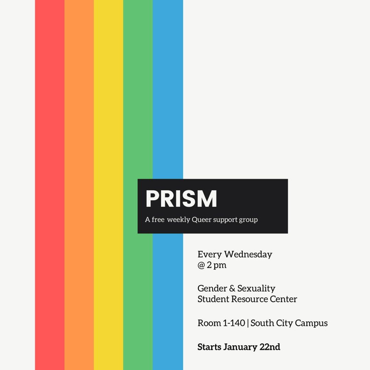 Prism: a free weekly Queer support group