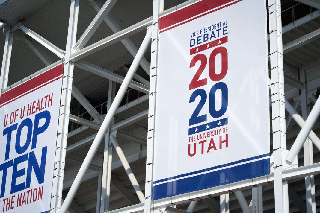 University of Utah debate banners