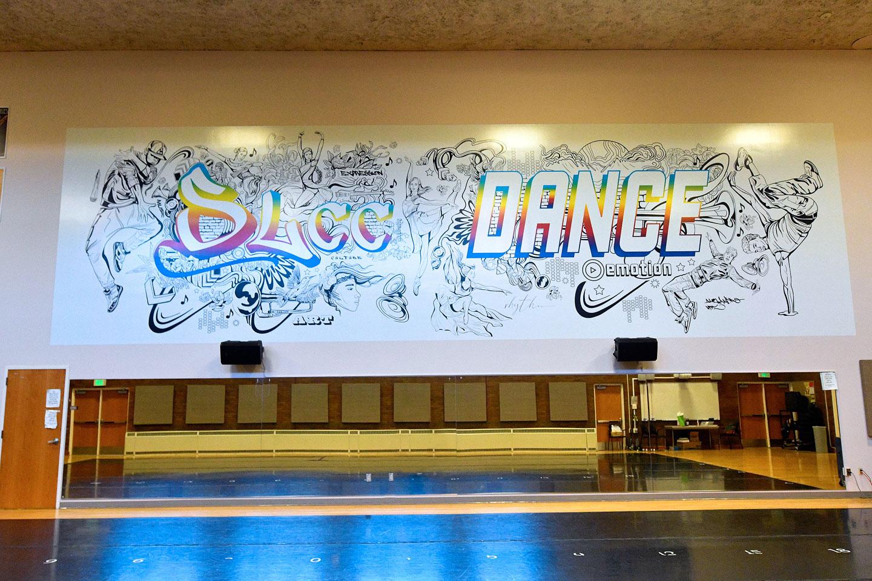 SLCC Dance mural