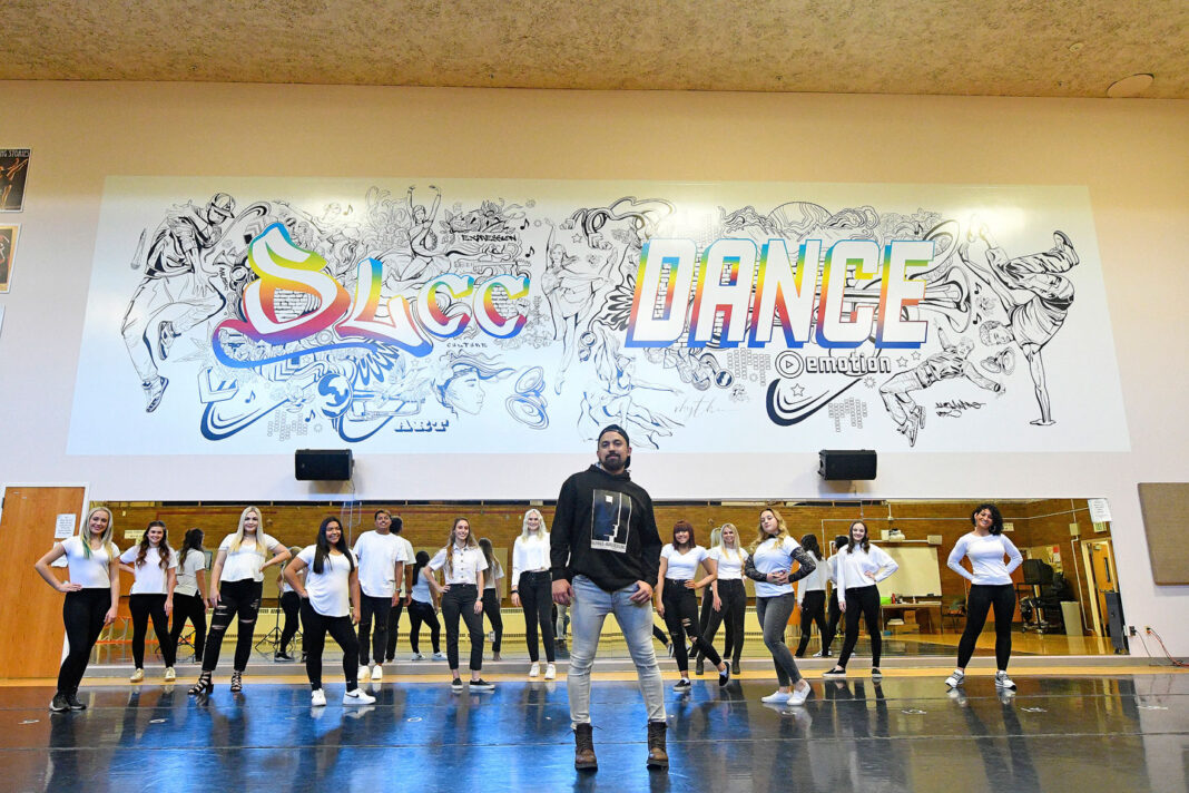 Alex with SLCC Dance Company
