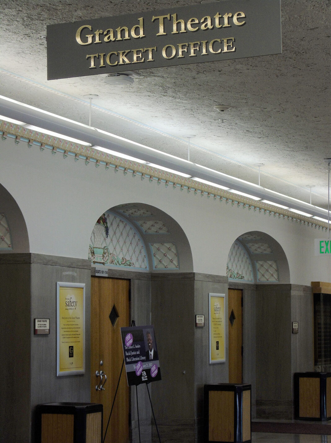 Entrance to The Grand Theatre