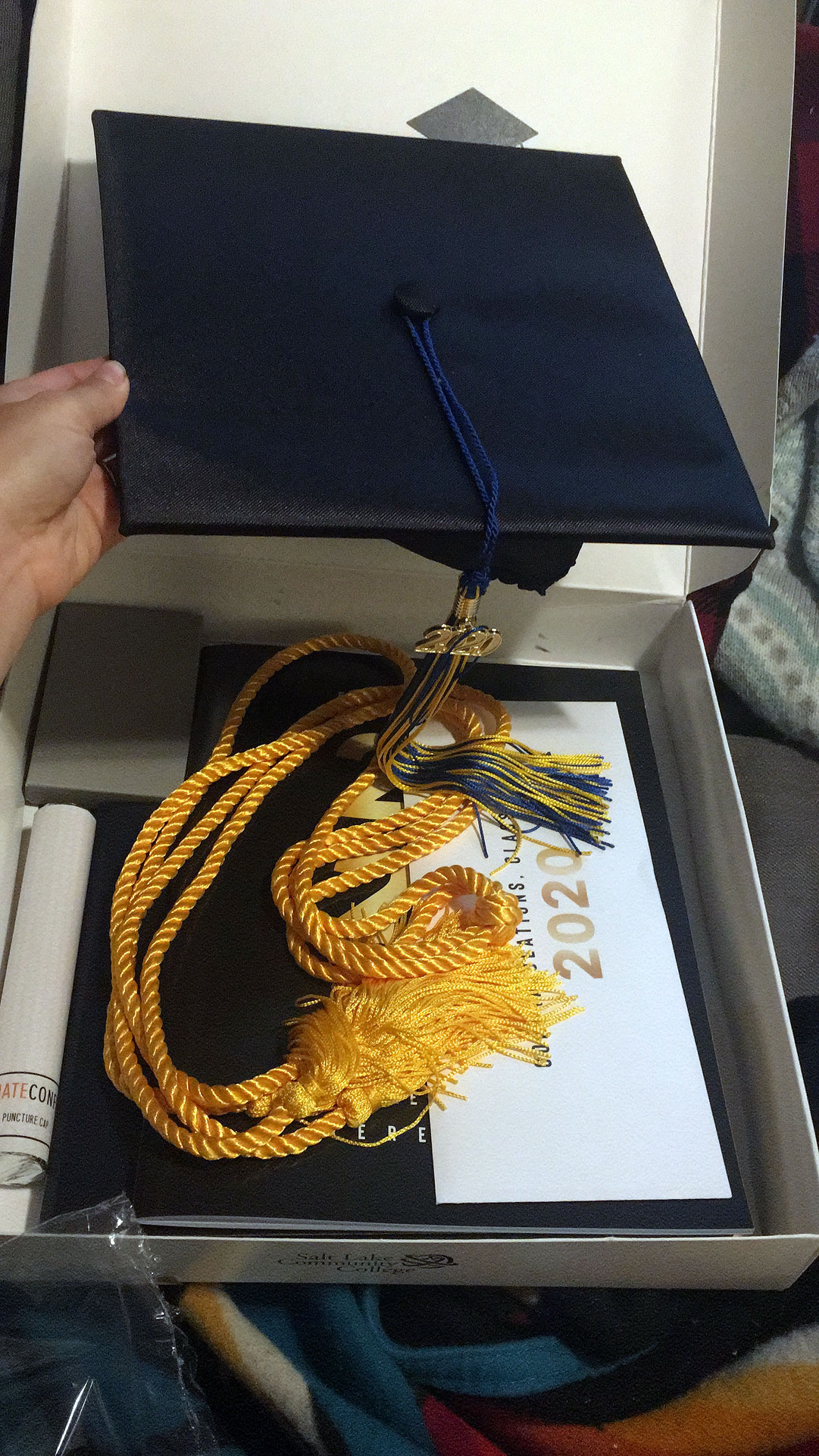 SLCC 2020 graduation package