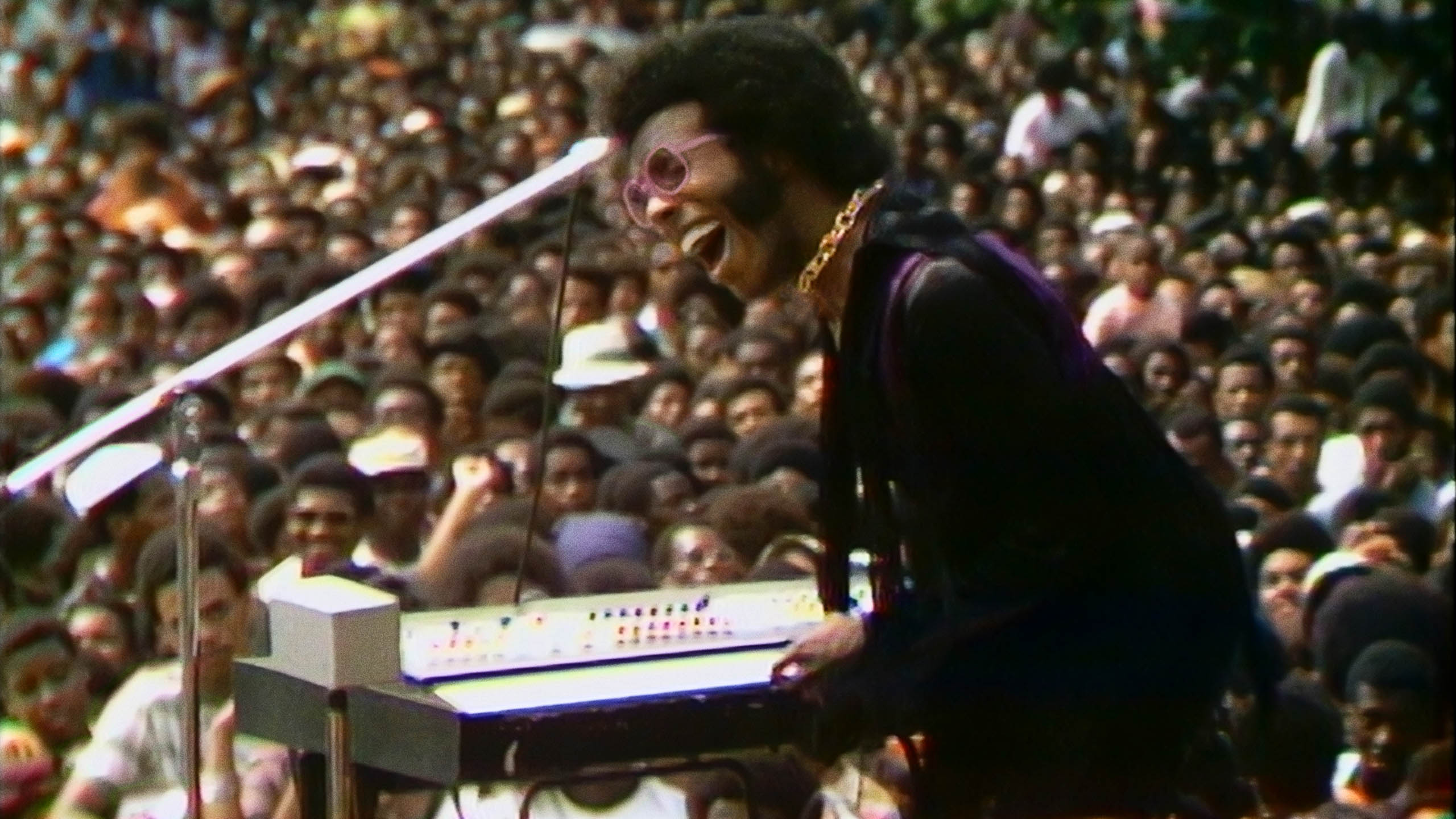Sly Stone on stage