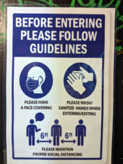 Health and safety guidelines at Kilby Court