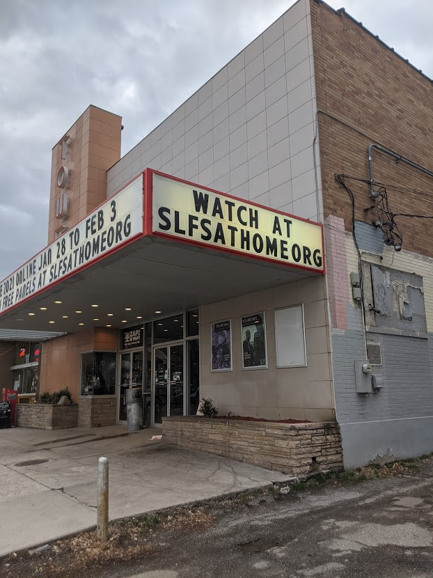 The Tower Theatre marquee
