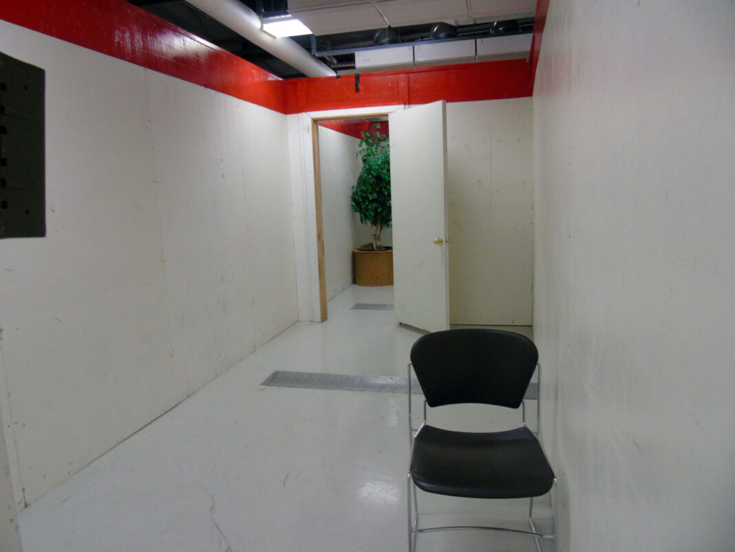 Room for police training