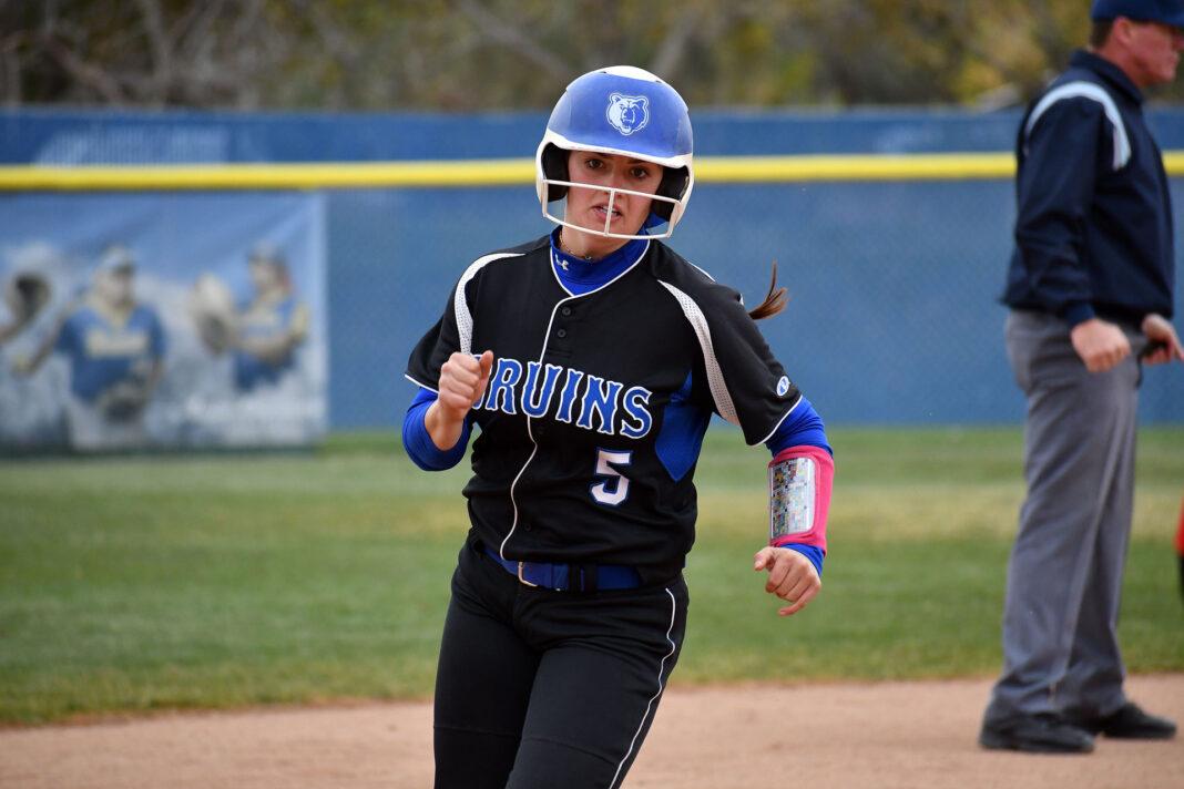 Kaytlyn Cripps runs