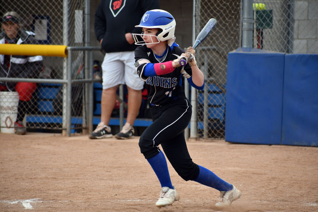 Sadie Atkinson swings