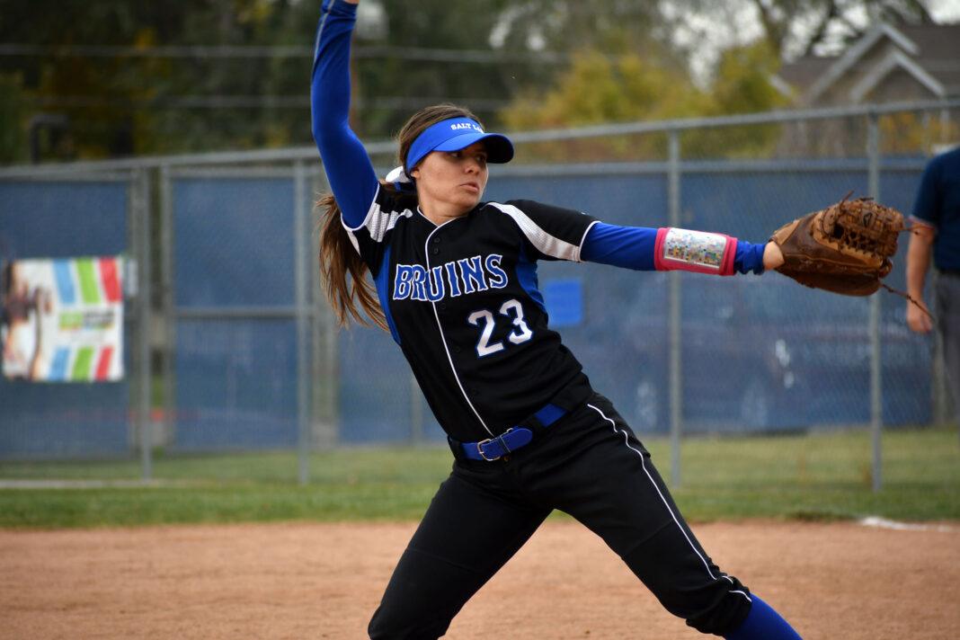 Bailey Frischknecht throws