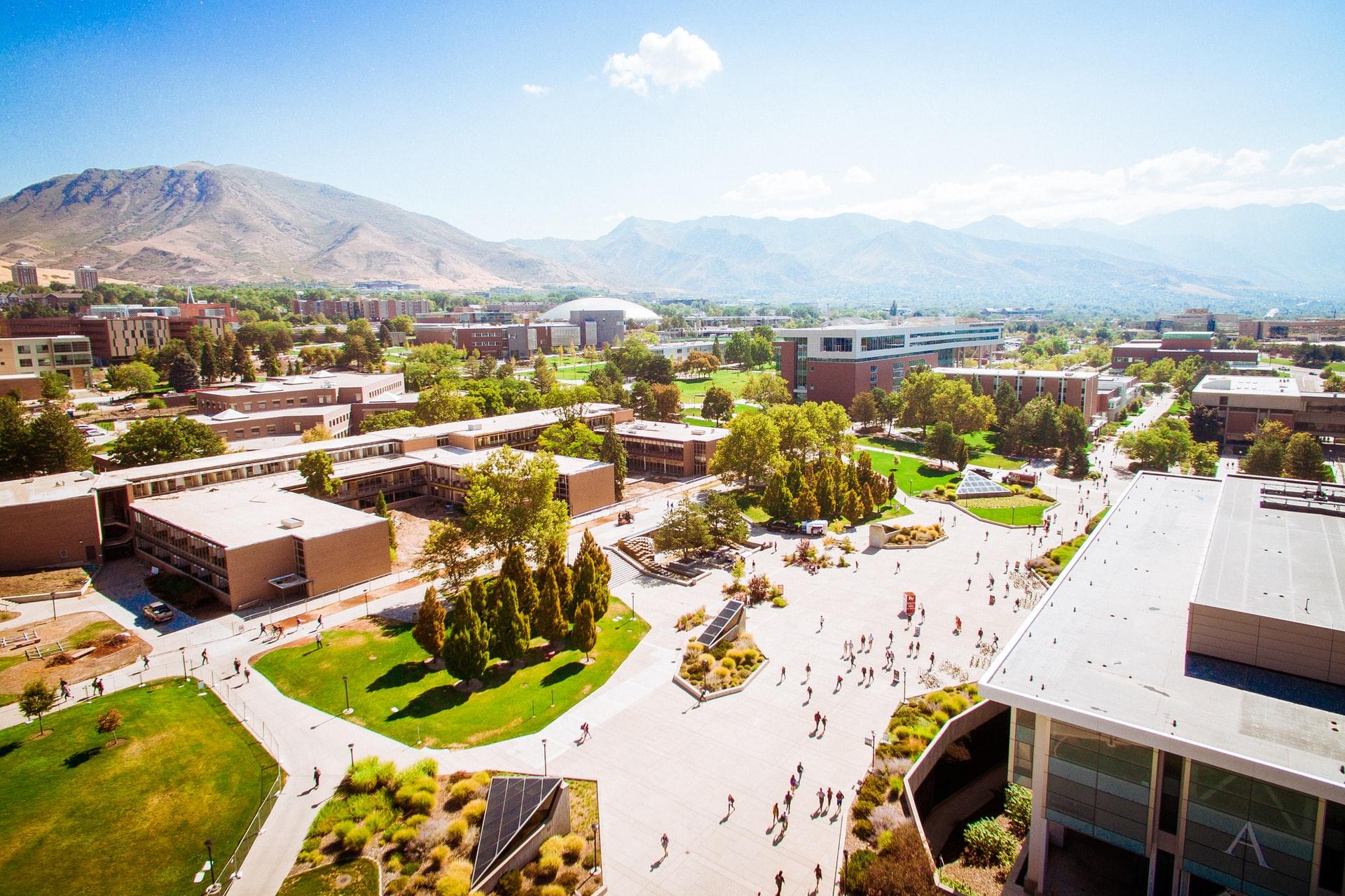 University of Utah aerial photo
