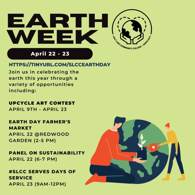 Earth Week: April 22-23