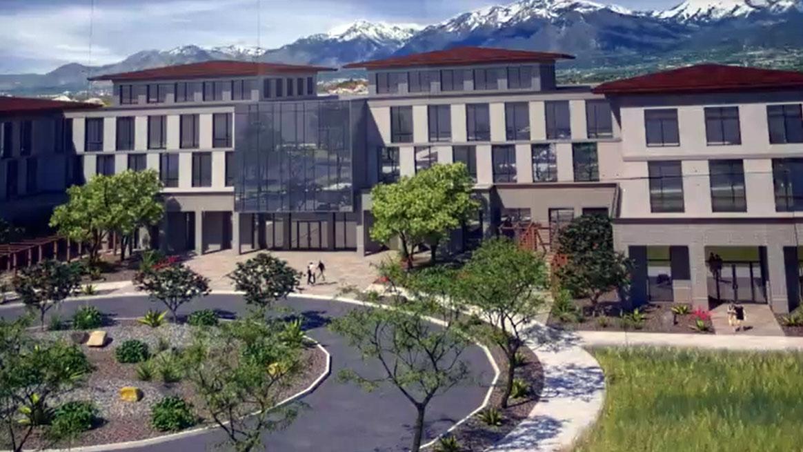 Rendering of Herriman Campus