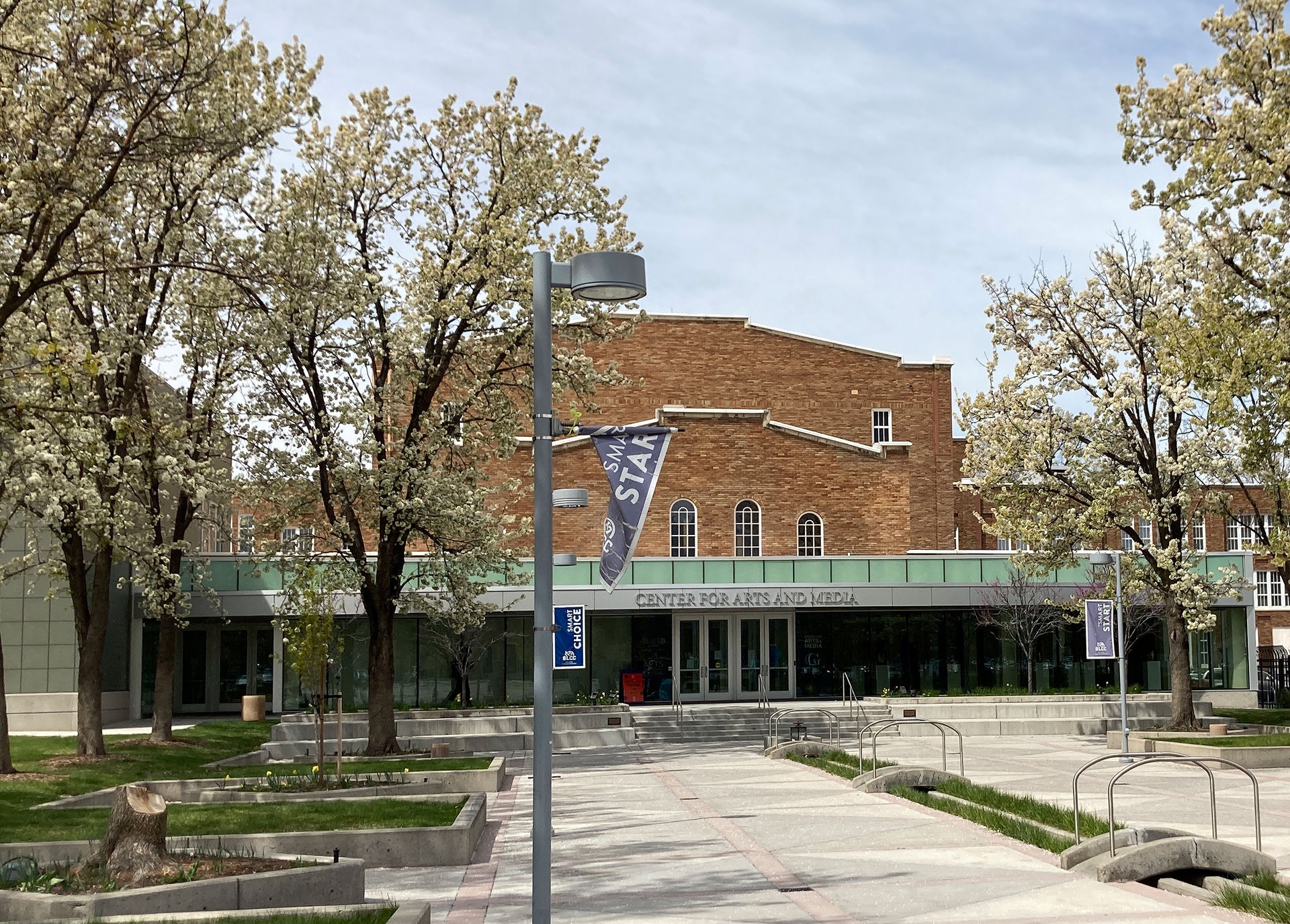 South City Campus in springtime