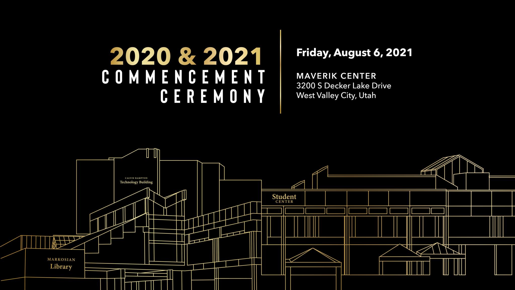 Invite for 2020 & 2021 SLCC Commencement Ceremony