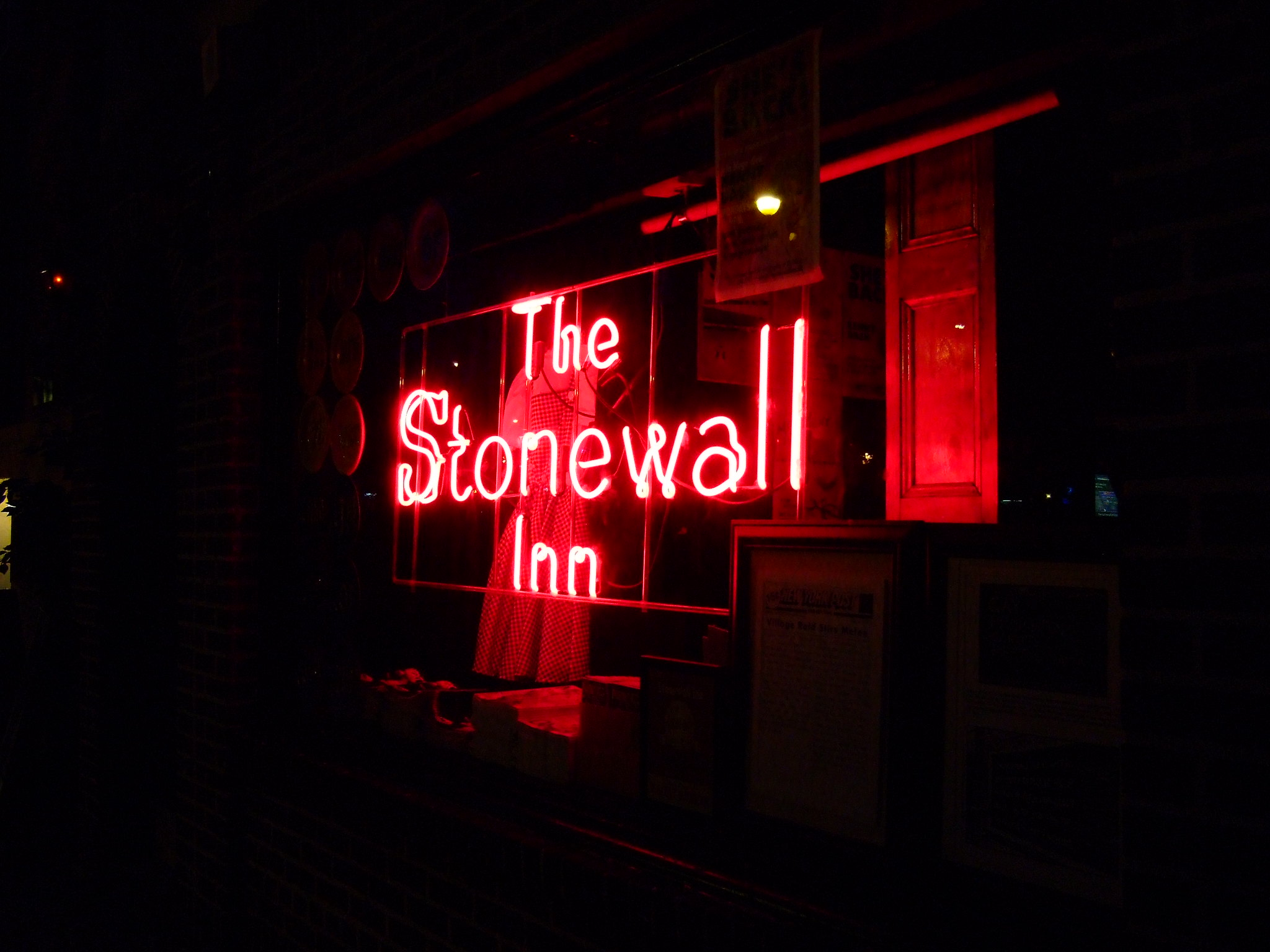 The Stonewall Inn neon sign