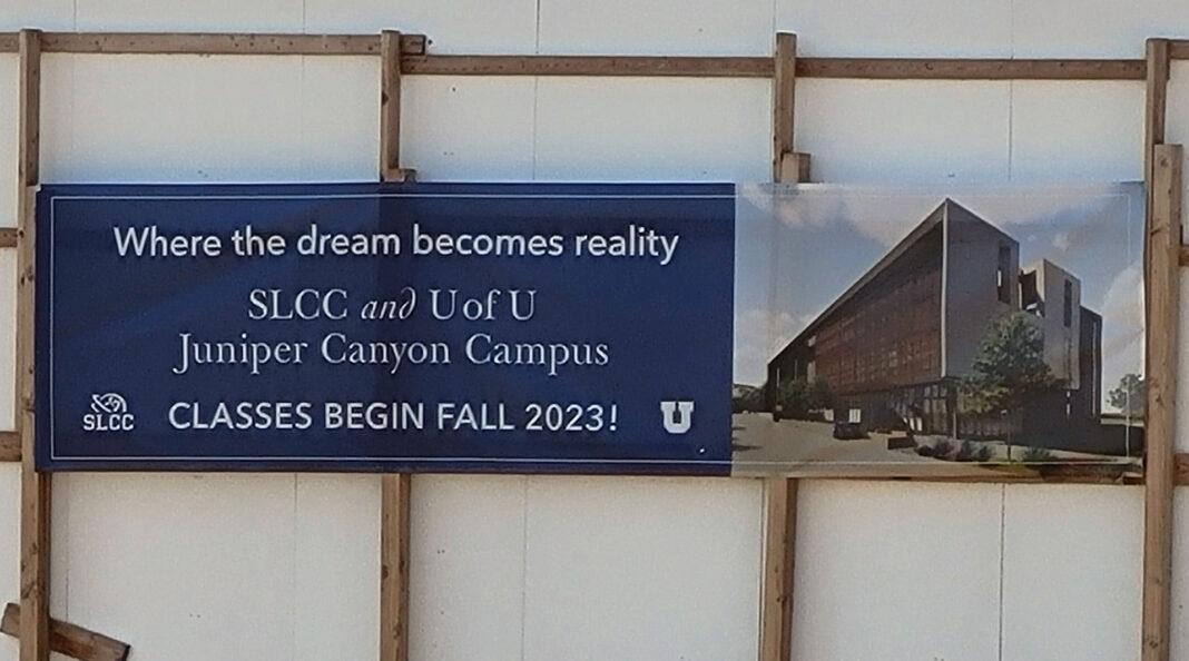 Banner details Juniper Canyon Campus