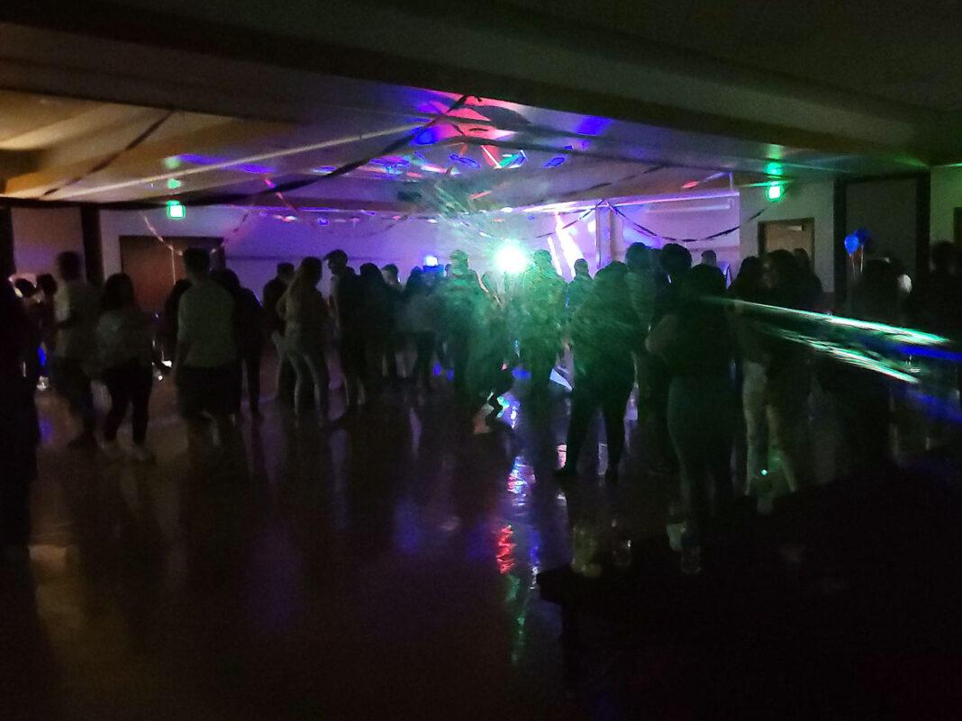 People dancing inside a room