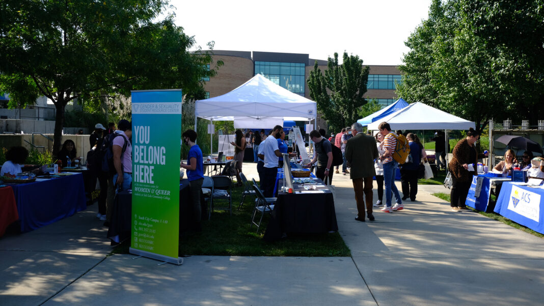 Outdoor Mega Fair at Taylorsville campus