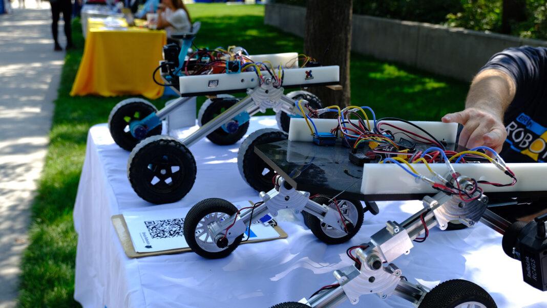 Customized robots on display