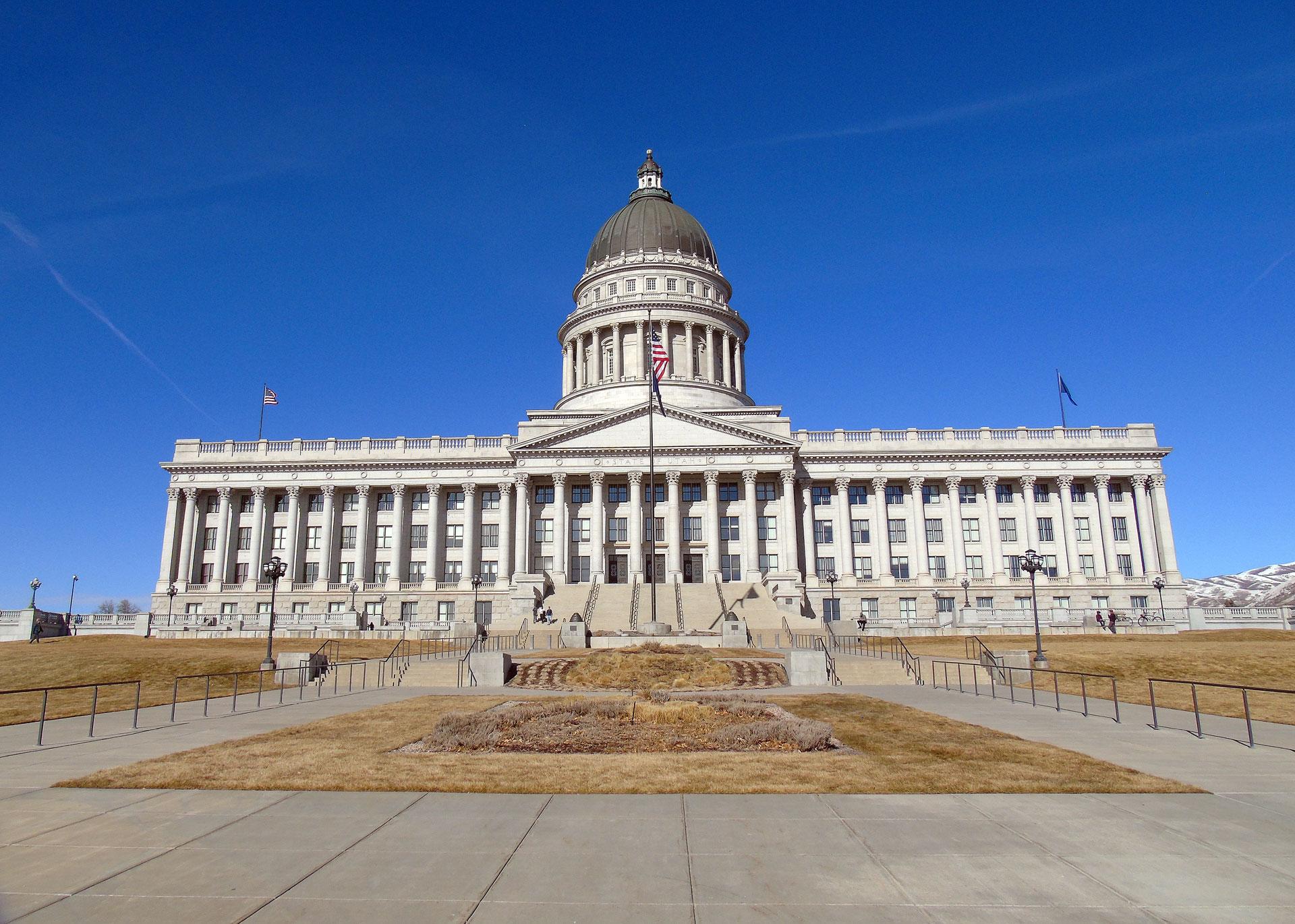 Utah's Capitol Hill in Salt Lake