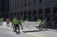Utah Gay Fathers Association walking at the Utah Pride Festival