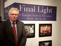 Curator of the V. Douglas Snow art gallery, Frank McEntire