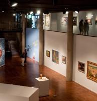 Gallery inside the Salt Lake Art Center