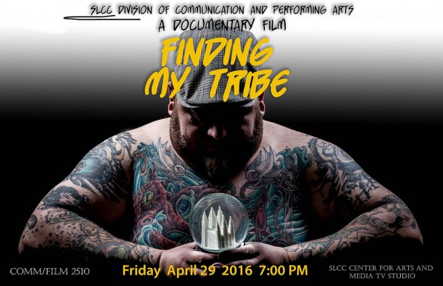 """Finding My Tribe"" poster"